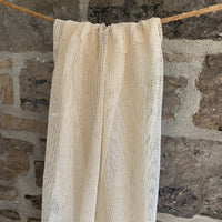 Organic Cotton Mesh / Net - Natural