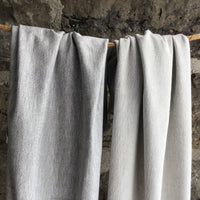 Bamboo Stretch Terry - Heather Light Grey