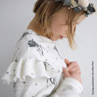 Jasmin Sweatshirt & Dress Sewing Pattern- Kids 3/12Y - Ikatee