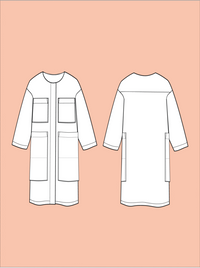 Lab Coat Pattern - The Assembly Line