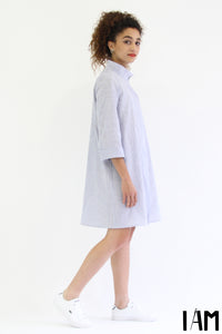 I am LIBELLULE - Shirt, Dress + Jacket Pattern -  I AM PATTERNS