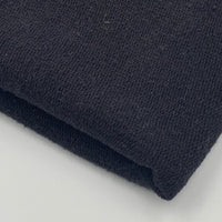 Lightweight Organic Cotton Terry - Grown & Made in USA - Black