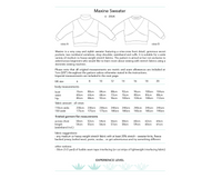 Maxine Sweater Sewing Pattern - Dhurata Davies
