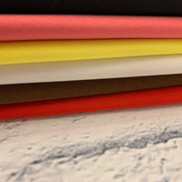 PUL - Polyurethane Laminate - Red