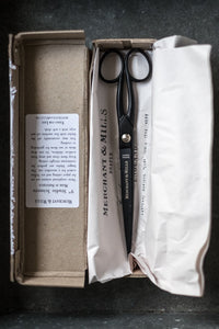 "Matte Black 9"" Studio Scissors - Merchant & Mills"