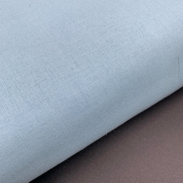 Pearl Cotton Broadcloth - Light Blue - BTA Denmark