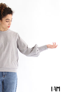 I am ZEBRE - Butterfly Sleeve Sweatshirt Pattern -  I AM PATTERNS