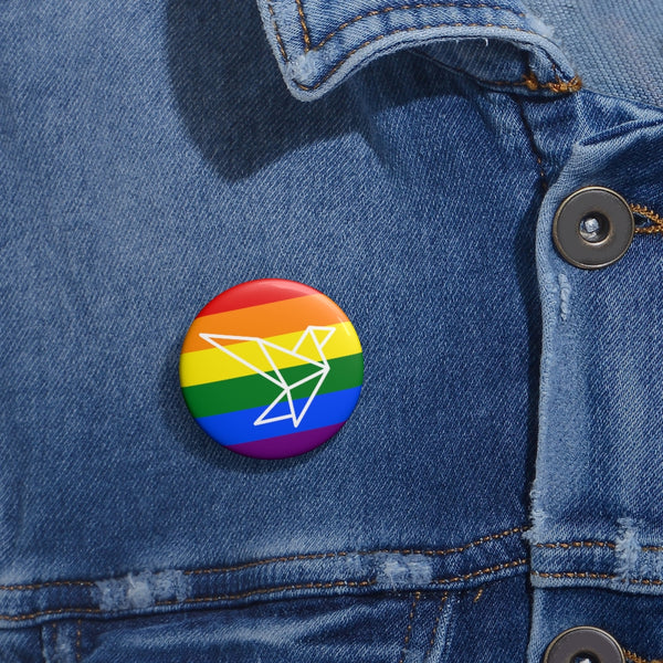 Limited Edition LX Pride Pin Buttons