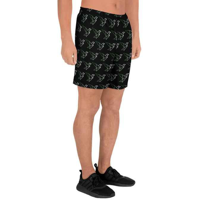Luxabi Logo Men's Athletic Long Shorts