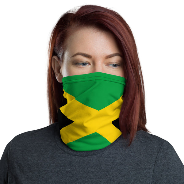 Jamaica  Face Mask, Neck gaiter, Headband