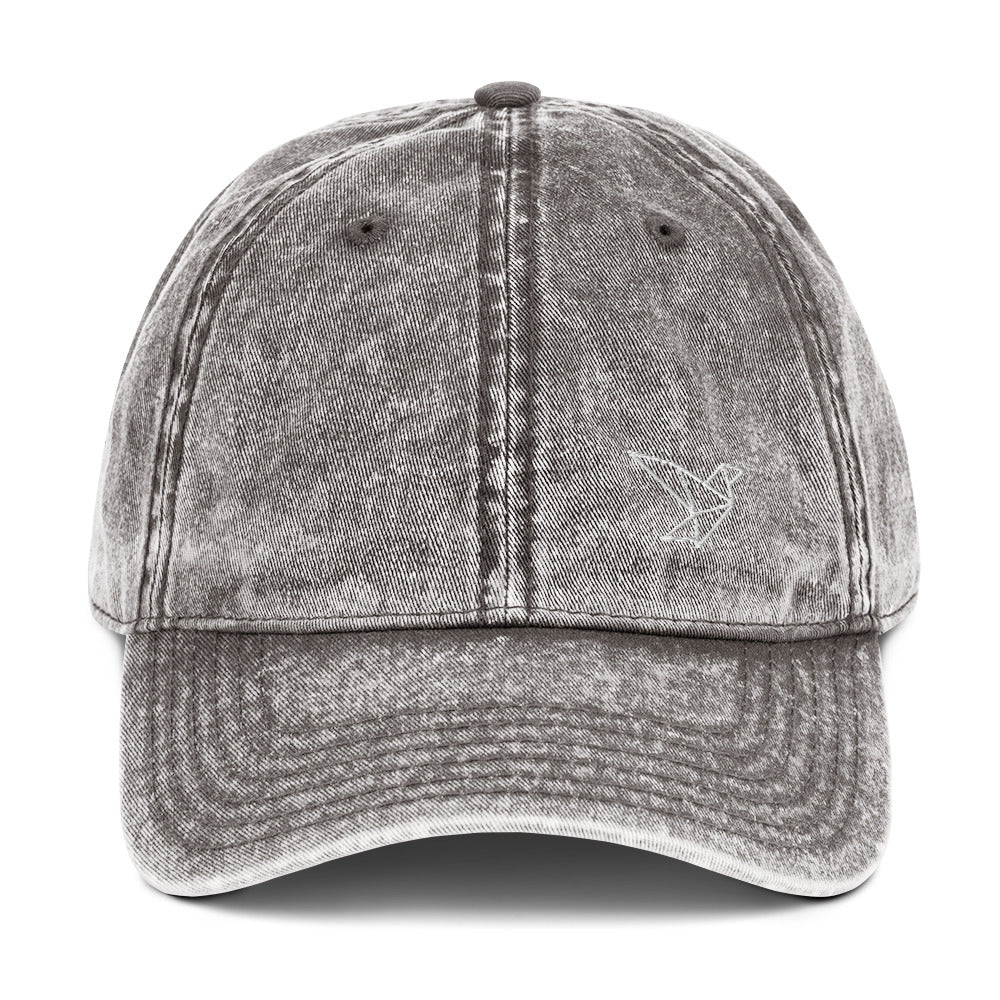 Luxabi Vintage Cotton Twill Cap