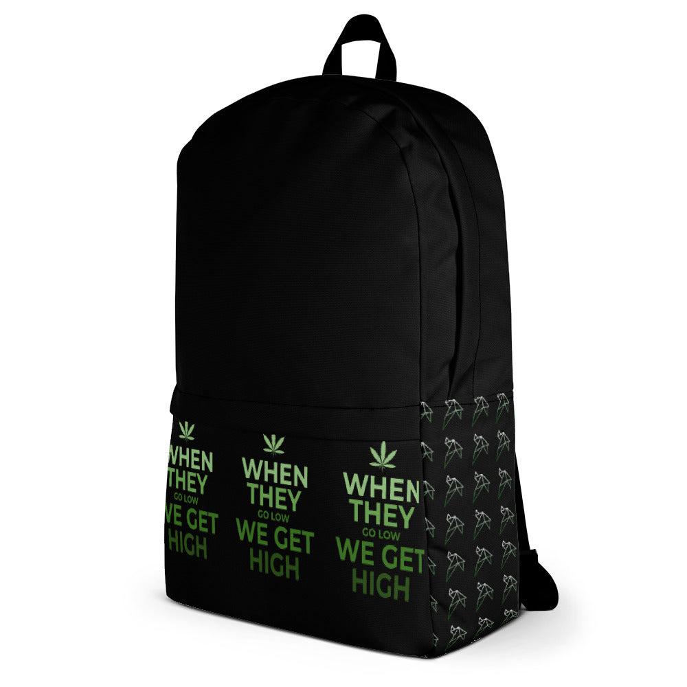 When they go low we get high LX Backpack