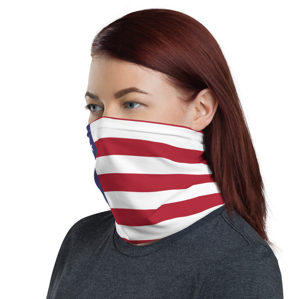 USA Neck Gaiter,  Face Mask, Headband