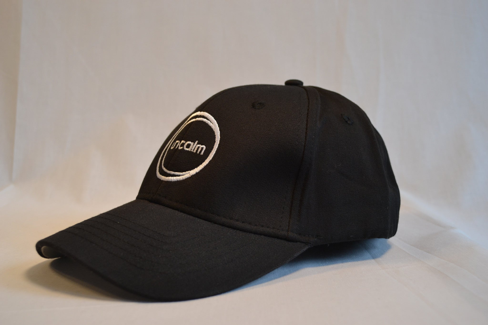 Black Low-profile Flexible Fit Hat