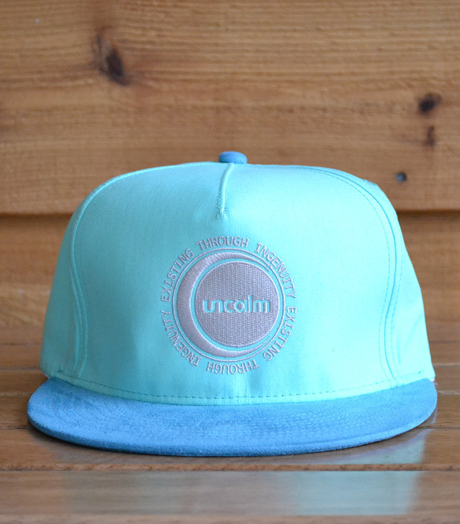 5 Panel Snapback w/ Sueded Brim