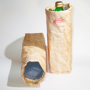 Insulated and reusable 40 oz/wine bottle koozie