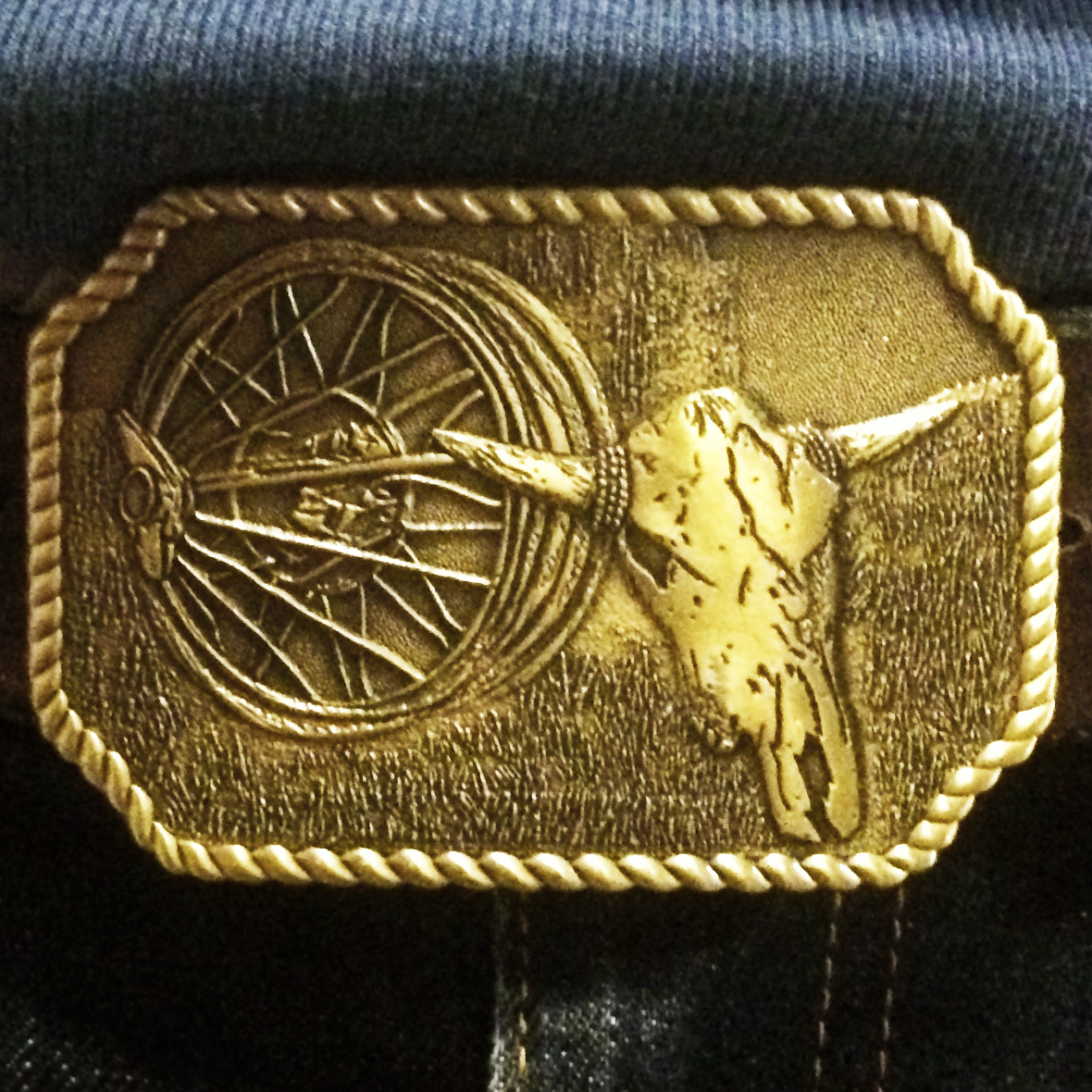 Bangin' & Twangin' Belt Buckle