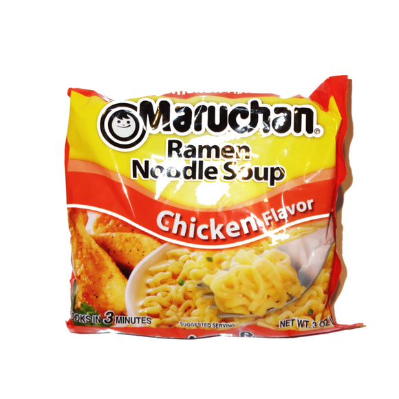 Maruchan ramen (chicken flavored)