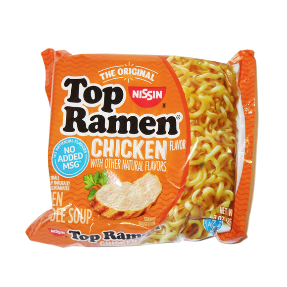 Top Ramen (chicken flavored)