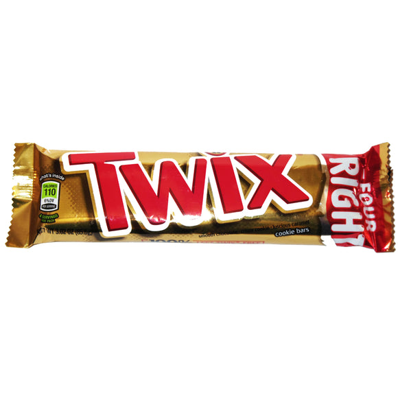 Twix (king-sized, 4 bars per wrapper)