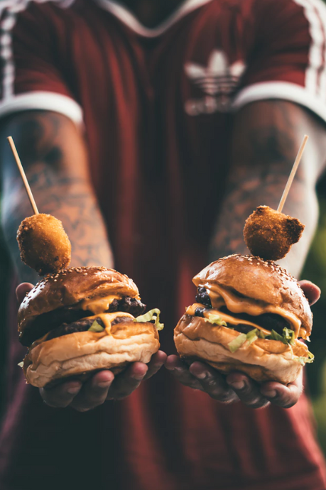 Celebrating Burger Day with these Sizzling Tattoos