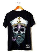 Load image into Gallery viewer, Captain Skull - SohoInk Clothing Merchandise