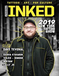 Freshly Inked Magazine - The Dave Tevenal Issue #6