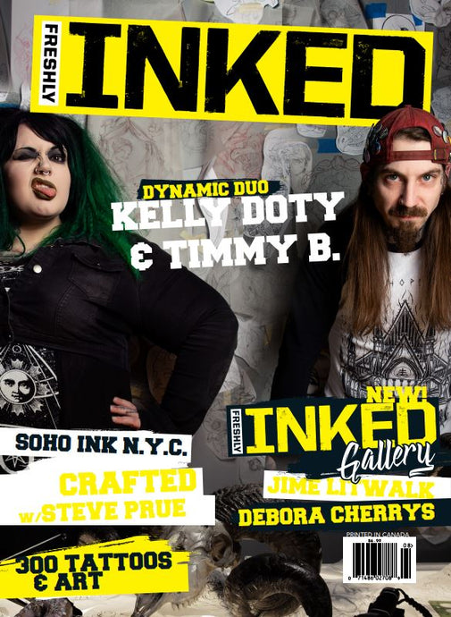 Freshly Inked Magazine - The Kelly Doty and Timmy B Issue #2