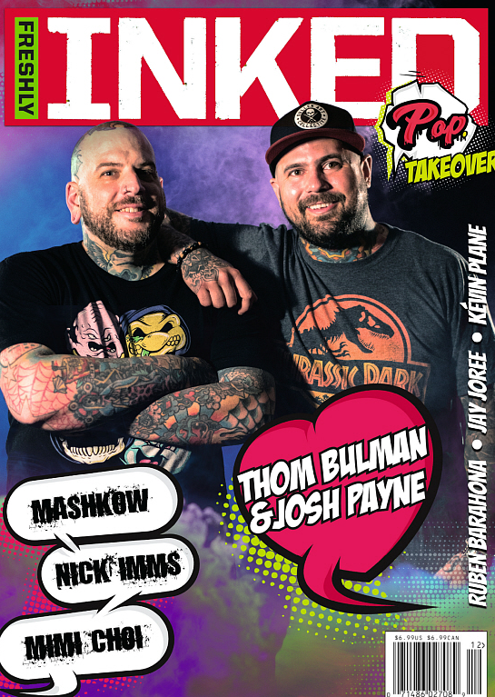Freshly Inked Magazine - The Thom and Josh Pop Takeover Issue #5
