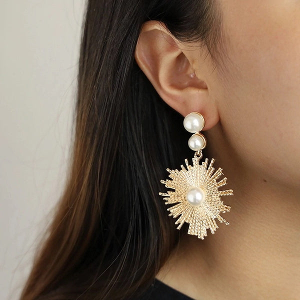 LONDYN EARRINGS - Black & Bloom