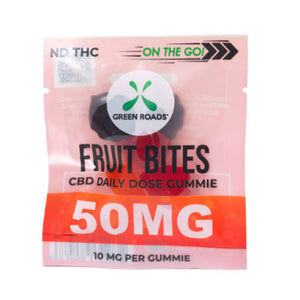 green roads fruit bite cbd gummies