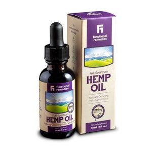 Functional Remedies Hemp Oil [250mg CBD]