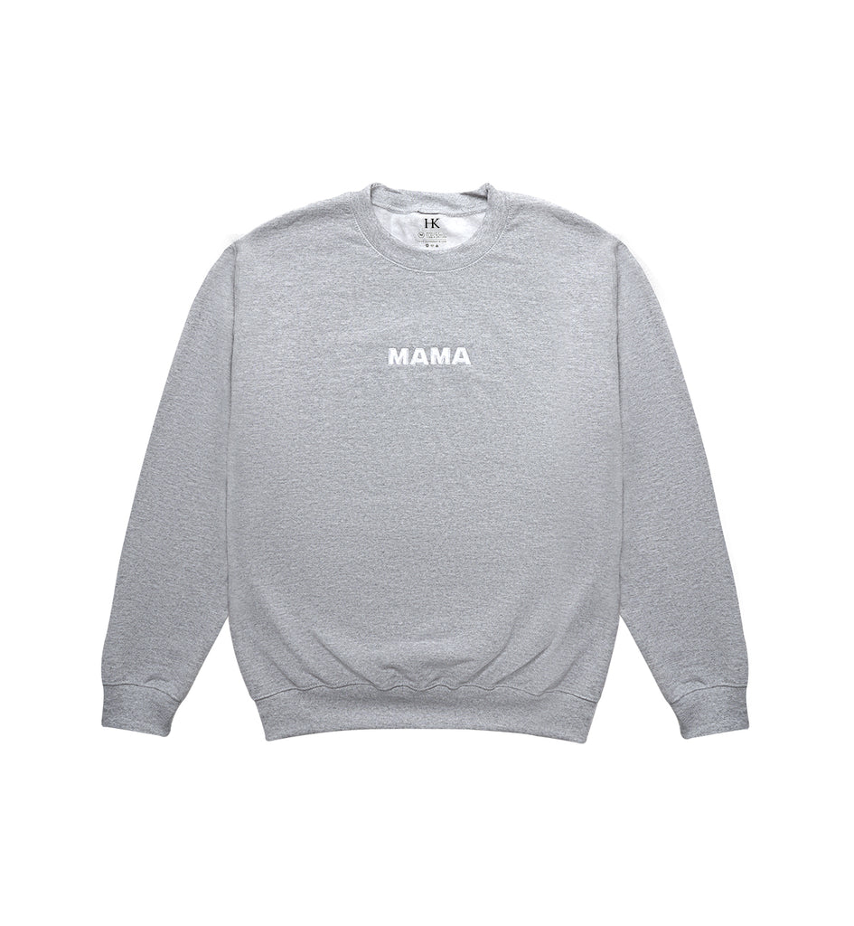 MAMA // GREY ON WHITE