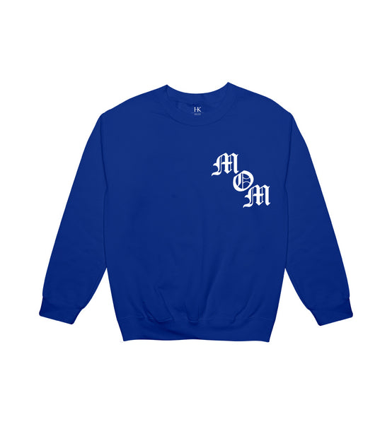 MOM // ROYAL BLUE CREW