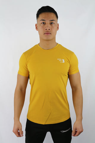 Backfit T-Shirt in gelb