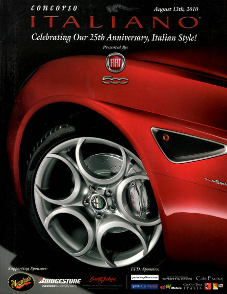 concours_italiano_2010_program_-_featuring_alfa_romeo_leonardo_fioravanti_ferrari_f40_&_bizzarrini-1_at_albaco.com