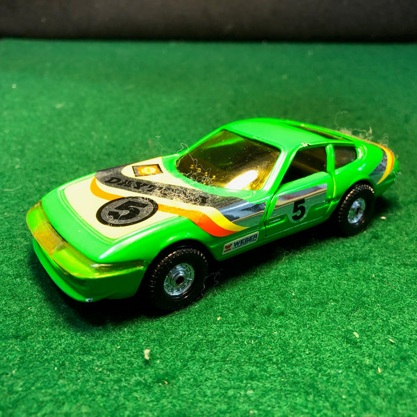 ferrari_365_gtb/4_daytona_n_5_green_by_corgi_toys_1-36_(300)(no_box)-1_at_albaco.com