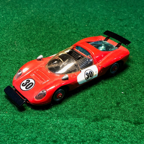ferrari_206_dino_sport_n_30_red/white_by_corgi_toys_1-43_(344)(no_box)-1_at_albaco.com