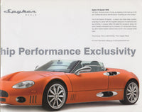 spyker_c8_laviolette_and_spyder_brochure-1_at_albaco.com