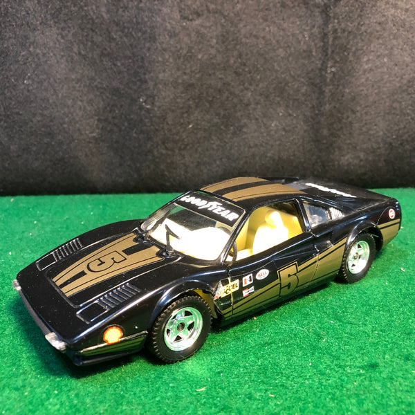 ferrari_308_gtb_racing_n_5_black/gold_by_tonka_1-25_(s214)(no_box)-1_at_albaco.com