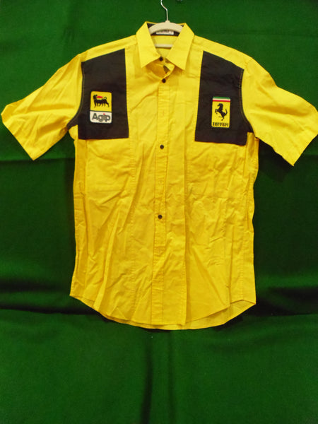 ferrari_f1_team_shirt_agip_yellow_w/black_on_front_of_shoulder_(030)-1_at_albaco.com
