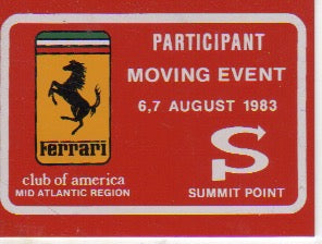 ferrari_club_of_america_-_summit_point_event_1983_-_participant_adhesive_badge-1_at_albaco.com