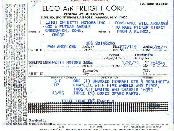ferrari_365_gtb/4_comp_daytona_1973_chinetti_air_freight_receipt-1_at_albaco.com