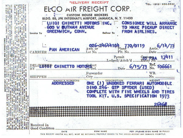 ferrari_246_dino_1973_chinetti_air_freight_receipt-1_at_albaco.com