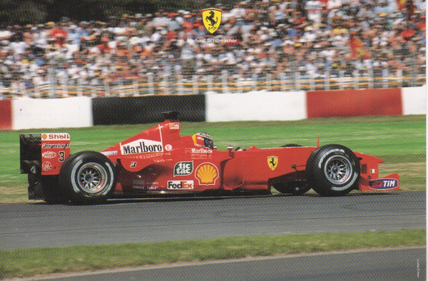 ferrari_postcard_-_michael_schumacher_(1586/00)-1_at_albaco.com