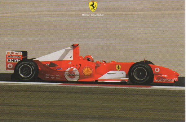 ferrari_postcard_-_michael_schumacher_(2048/04)-1_at_albaco.com