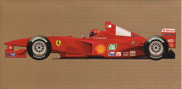 ferrari_2000_world_champion_card_(1645/00)-1_at_albaco.com