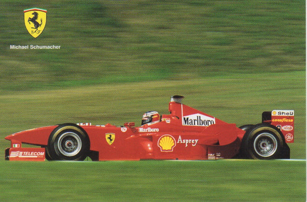 ferrari_postcard_-_michael_schumacher_(1368/98)-1_at_albaco.com