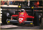 gerhard_berger_on_ferrari_f1/87_official_poster_(502/87)-1_at_albaco.com