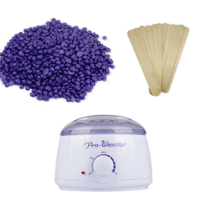 Pearl Wax Beans, Warmer & Spatulas Bundle
